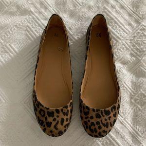 Shoes - Leopard print ballet flats